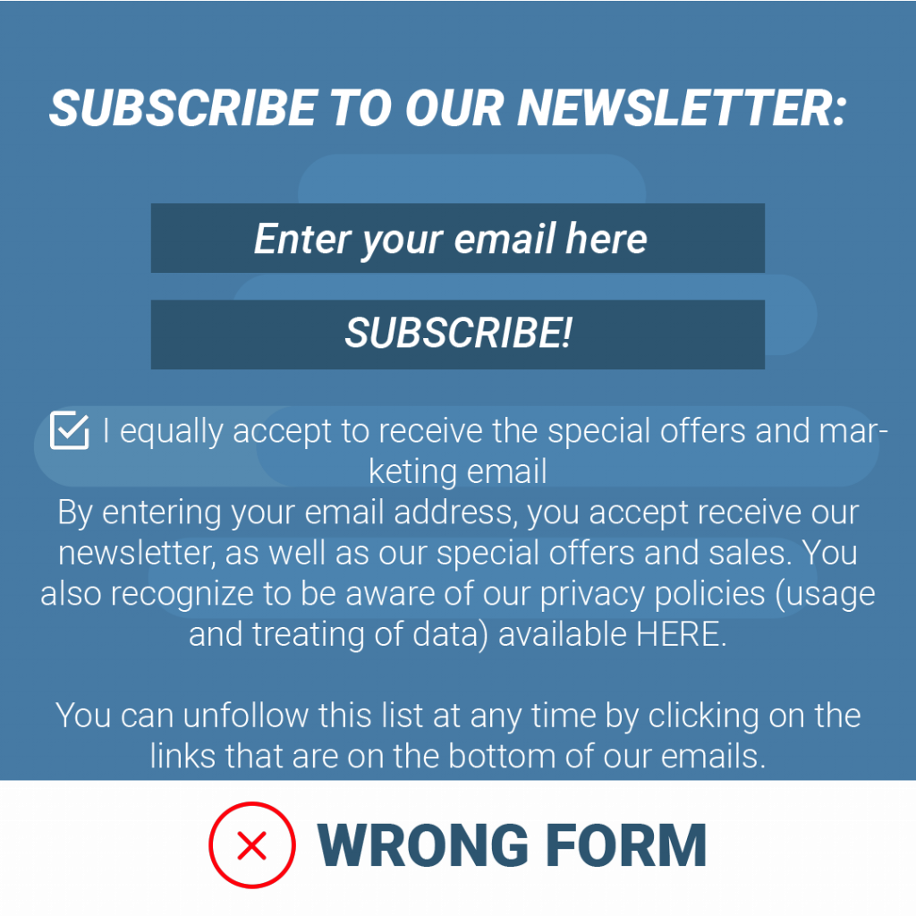 GDPR-Subscription