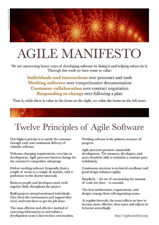 Agile Mindset - the Agile Manifesto